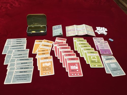 Mint Works Board Game - Macronova Games