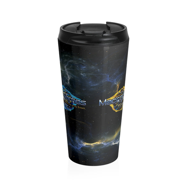 Macronova Games Stainless Steel Travel Mug Mug - Macronova Games