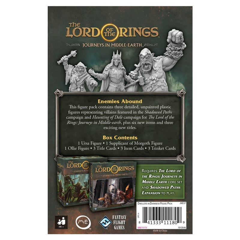 The Lord of the Rings: Journeys in Middle-Earth - Dwellers in Darkness Figure Pack