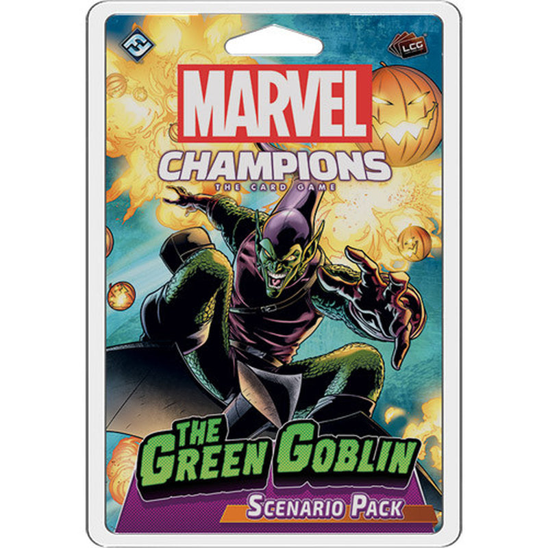 Marvel Champions: The Green Goblin Scenario Pack Board Game - Macronova Games