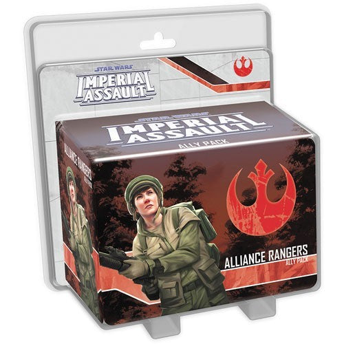 Star Wars: Imperial Assault - Alliance Rangers Ally Pack Board Game - Macronova Games