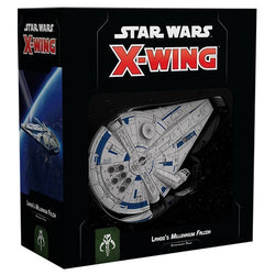 Star Wars X-Wing: 2nd Edition - Lando's Millennium Falcon Expansion Pack Board Game - Macronova Games