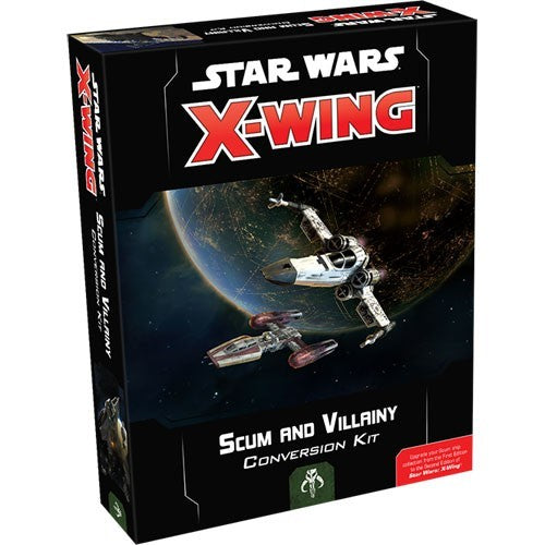 Star Wars X-Wing: 2nd Edition - Scum and Villainy Conversion Kit Board Game - Macronova Games