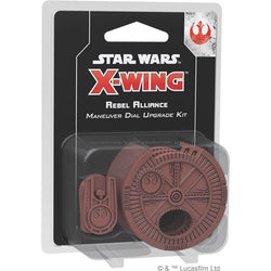 Star Wars X-Wing: 2nd Edition - Rebel Alliance Maneuver Dial Upgrade Kit Accessory - Macronova Games