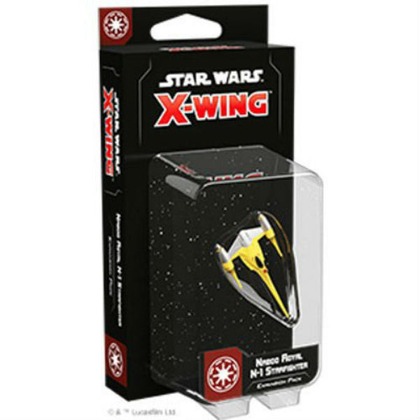 Star Wars X-Wing: 2nd Edition - Naboo Royal N-1 Starfighter Expansion Pack Board Game - Macronova Games