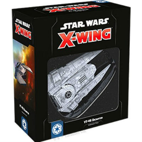 Star Wars X-Wing: 2nd Edition - VT-49 Decimator Expansion Pack Board Game - Macronova Games