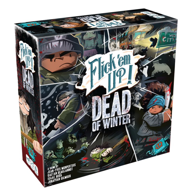 Flick 'em Up: Dead of Winter Board Game - Macronova Games