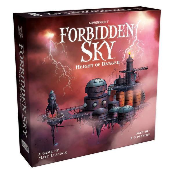 Forbidden Sky Board Game - Macronova Games
