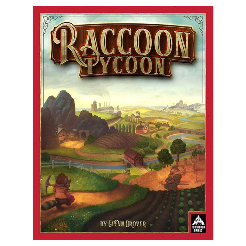 Raccoon Tycoon Board Game - Macronova Games
