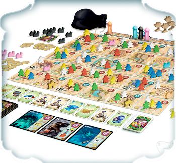 Five Tribes Board Game - Macronova Games