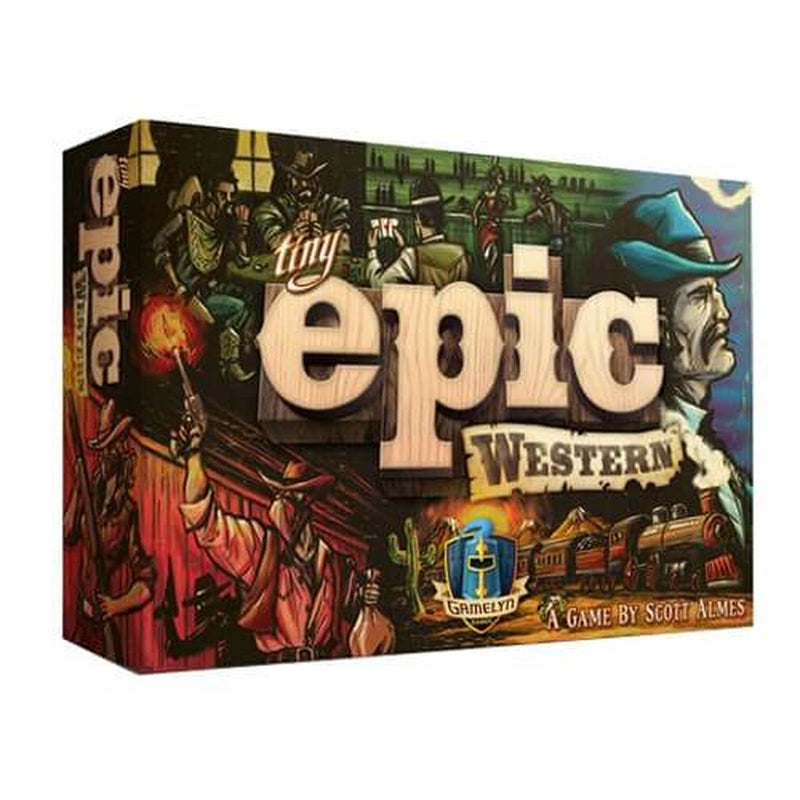 Tiny Epic Western Board Game - Macronova Games