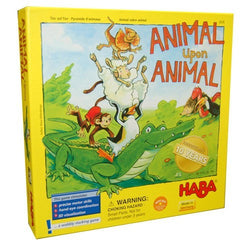 Animal Upon Animal Board Game - Macronova Games