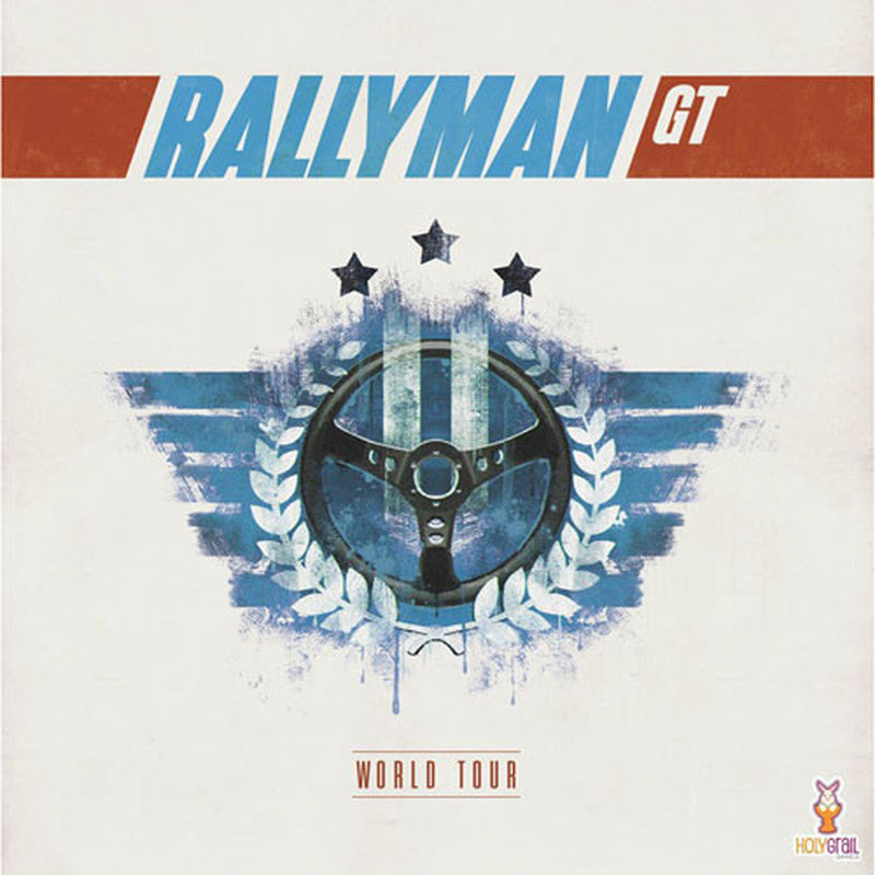 Rallyman: GT - World Tour Board Game - Macronova Games