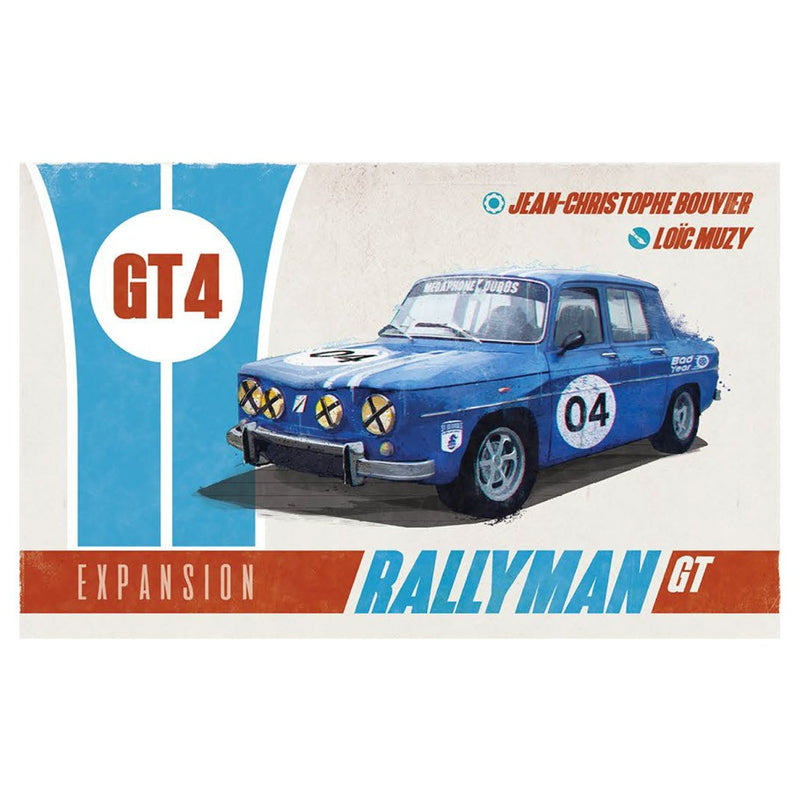 Rallyman: GT - GT4 Board Game - Macronova Games