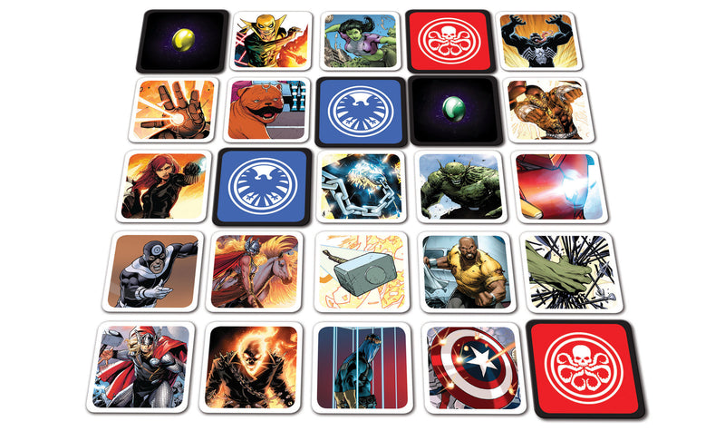 Codenames Marvel Board Game - Macronova Games