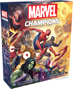 Marvel Champions: The Card Game Board Game - Macronova Games