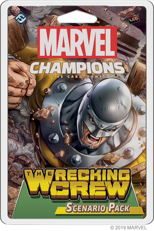 Marvel Champions: The Wrecking Crew Scenario Pack Board Game - Macronova Games