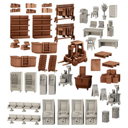 Terrain Crate: Citiscape Accessory - Macronova Games