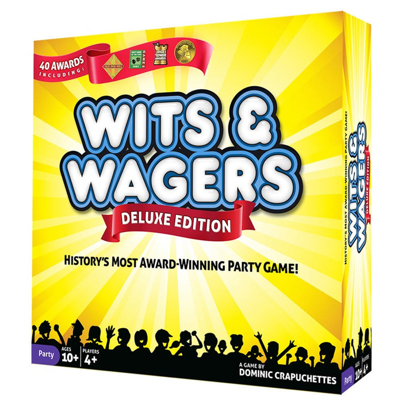 Wits & Wagers Deluxe Edition Board Game - Macronova Games
