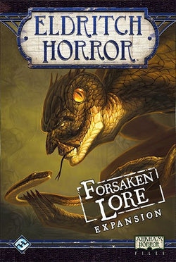Eldritch Horror: Forsaken Lore Board Game - Macronova Games