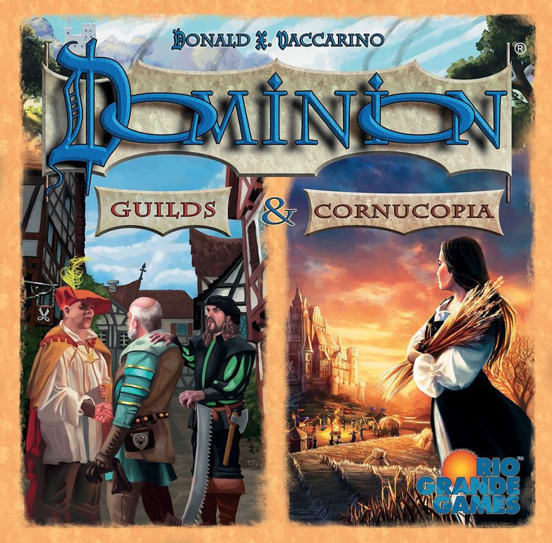 Dominion: Cornucopia & Guilds Board Game - Macronova Games