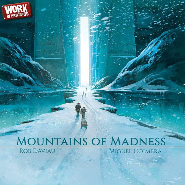 Mountains of Madness Board Game - Macronova Games
