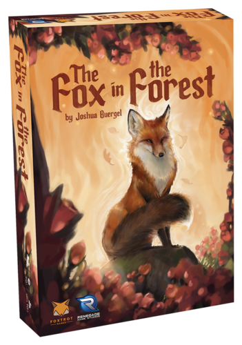 The Fox in the Forest Board Game - Macronova Games
