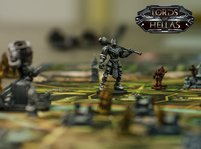Lords of Hellas Board Game - Macronova Games