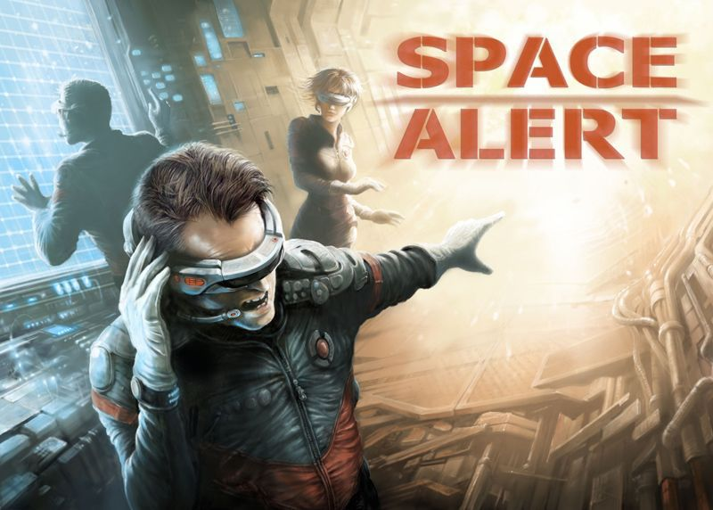 Space Alert Board Game - Macronova Games