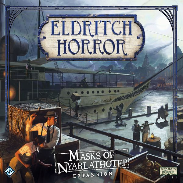 Eldritch Horror: Masks of Nyarlathotep Board Game - Macronova Games