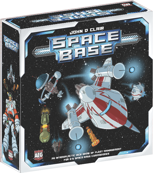 Space Base Board Game - Macronova Games