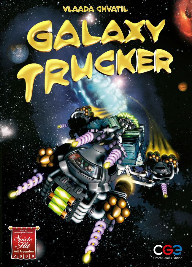 Galaxy Trucker Board Game - Macronova Games