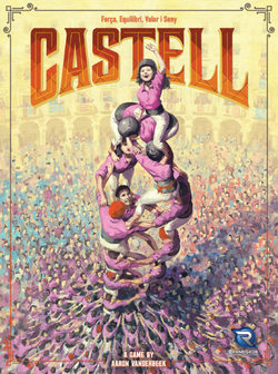 Castell Board Game - Macronova Games