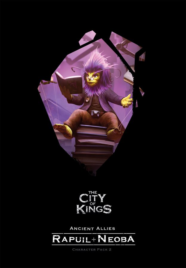 The City of Kings Character Pack 2: Rapuil and Neoba Board Game - Macronova Games