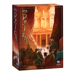 Passing Through Petra Board Game - Macronova Games