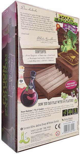 Potion Explosion: The 6th Student Board Game - Macronova Games