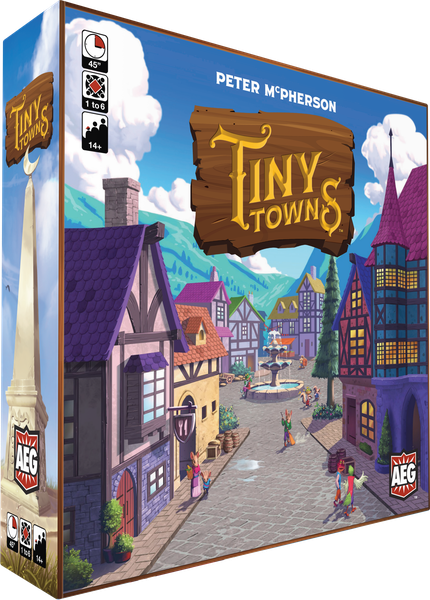 Tiny Towns Board Game - Macronova Games