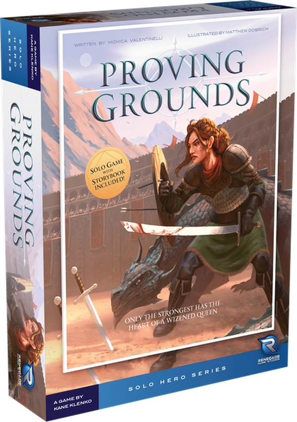 Solo Hero Series: Proving Grounds Board Game - Macronova Games