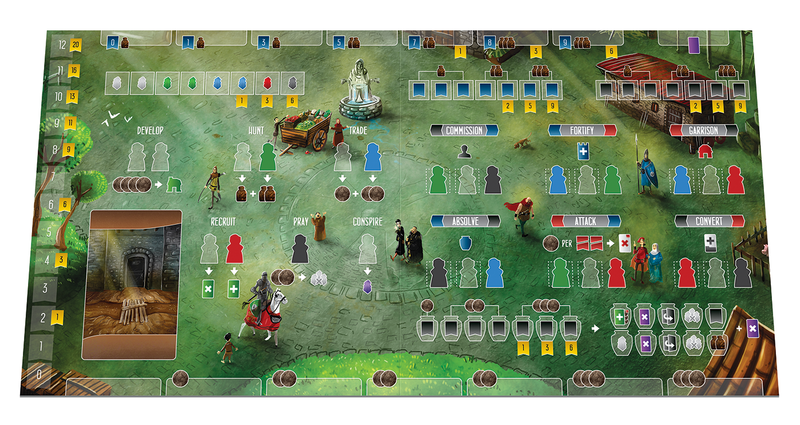 Paladins of the West Kingdom Board Game - Macronova Games