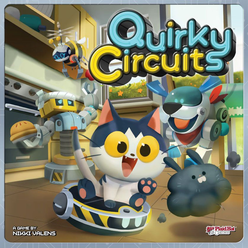 Quirky Circuits Board Game - Macronova Games