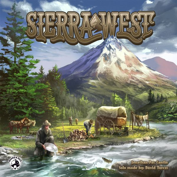 Sierra West Board Game - Macronova Games