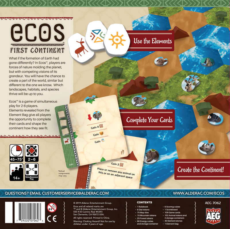 Ecos: The First Continent Board Game - Macronova Games