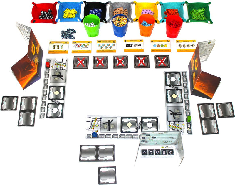 Roll for the Galaxy: Ambition Board Game - Macronova Games