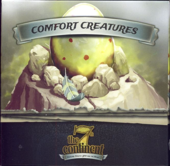 The 7th Continent - Comfort Creatures Board Game - Macronova Games