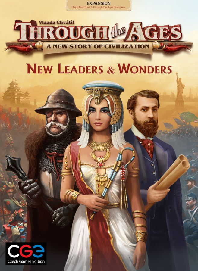 Through the Ages: New Leaders and Wonders Board Game - Macronova Games