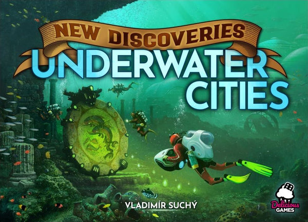 Underwater Cities: New Discoveries Expansion Board Game - Macronova Games