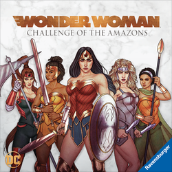Wonder Woman Challenge of the Amazons