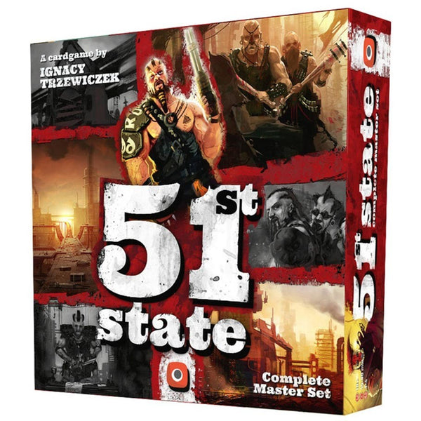 51st State Master Set Board Game - Macronova Games