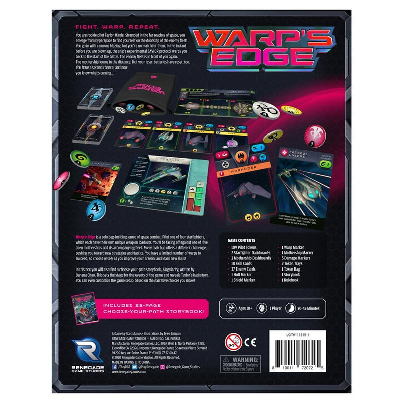 Warp's Edge Board Game - Macronova Games