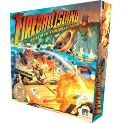 Fireball Island: Wreck of the Crimson Cutlass Board Game - Macronova Games